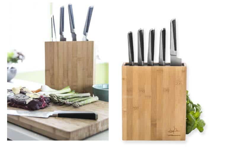Mannerströms knivblock i bambu